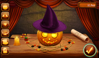Screenshot of Hidden Object Pumpkin Makeover