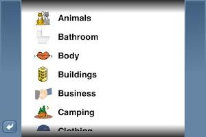 Screenshot of NounStar Language English