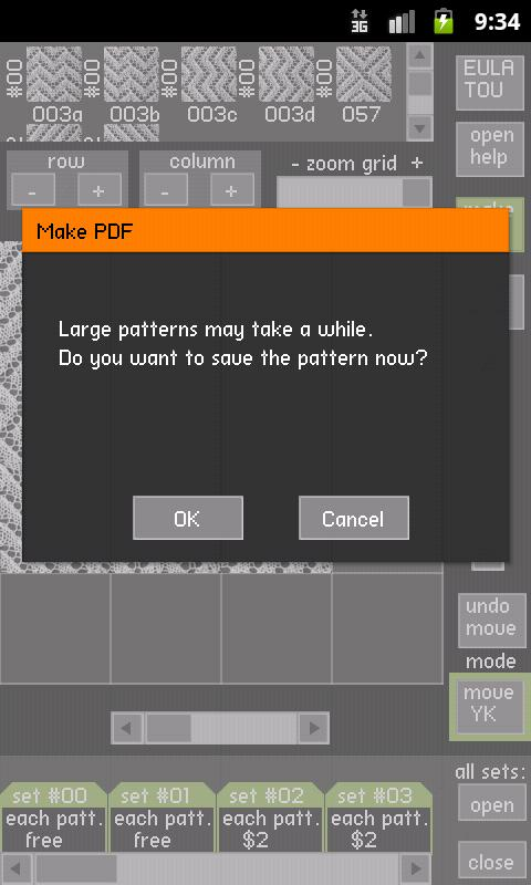 YouKnits Designer C- screenshot
