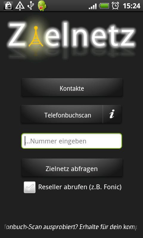 Zielnetz 150 Abfragen- screenshot