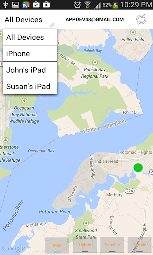 Find iPhone, Android Devices, xfi Locator Lite 1.9.2 screenshots 2