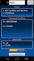 Screenshot of QCode Notam Decoder