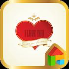 I Love You Dodol Luncher Theme icon