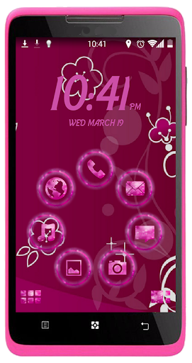 SL Glittery Pink Theme