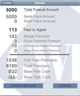 gwic iPremium Calculator- screenshot thumbnail