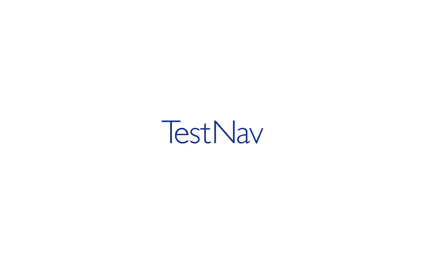 TestNav- screenshot