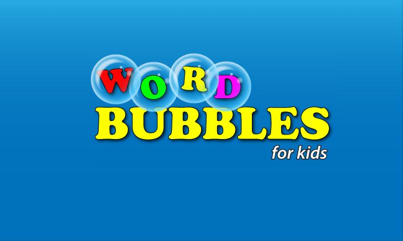 Word Bubbles for Kids - screenshot