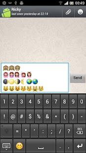 New Emoji Keyboard- screenshot thumbnail