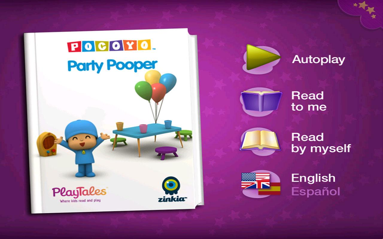 Pocoyo: Party Pooper- screenshot