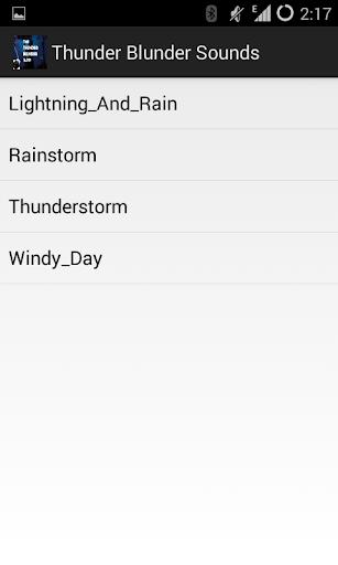 Thunder Blunder Sounds