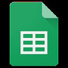 Hojas de cálculo de Google icon