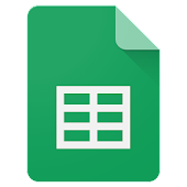 Google Sheets Icon