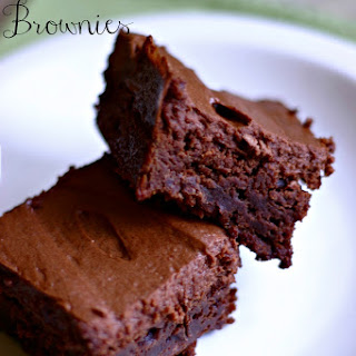 Cinnamon Chocolate Brownies.