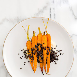Roasted Carrots & Parsnip Puree