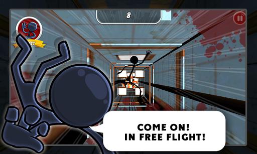 【免費街機App】火柴人俯冲-APP點子