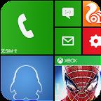 imitate Windows Phone 8 theme