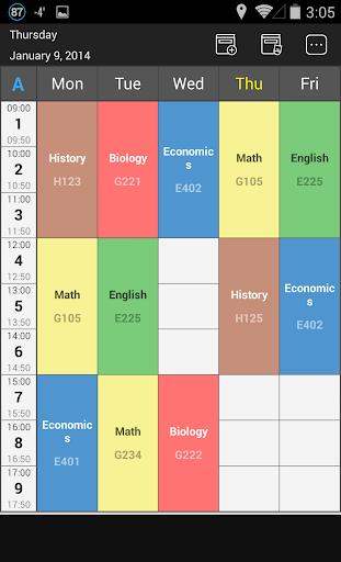 Handy Timetable 2.4.0 screenshots 1