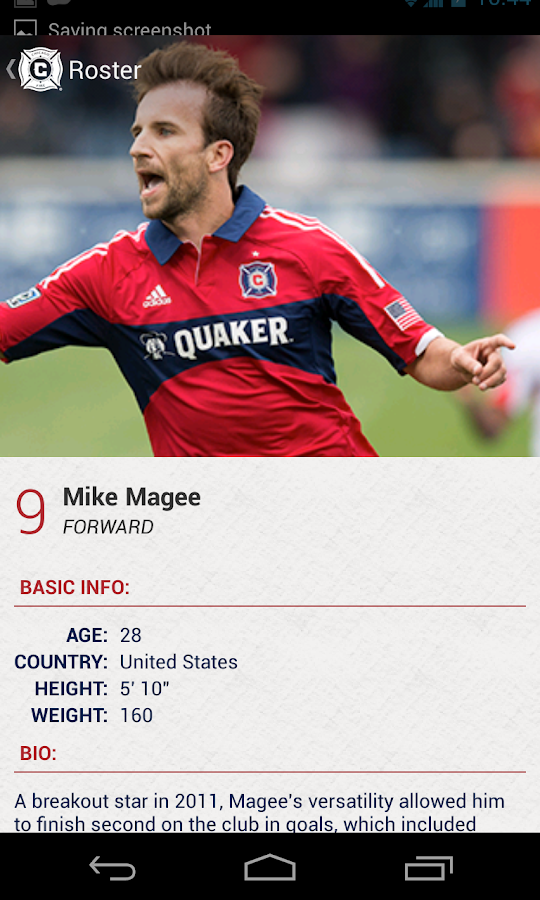 Chicago Fire SC - Official App - screenshot