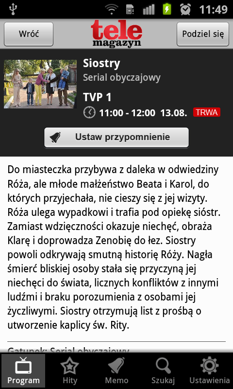 Program TV Telemagazyn - screenshot