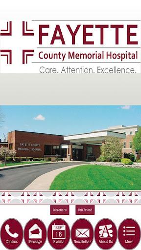 【免費健康App】Fayette Memorial Hospital-APP點子