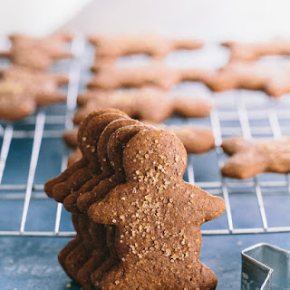Soft Gingerbread Cookies (Healthy) + Healthy Christmas Cookies