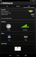 Screenshot of Control Center