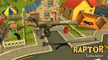 Screenshot of Raptor Dinosaur Simulator 3D