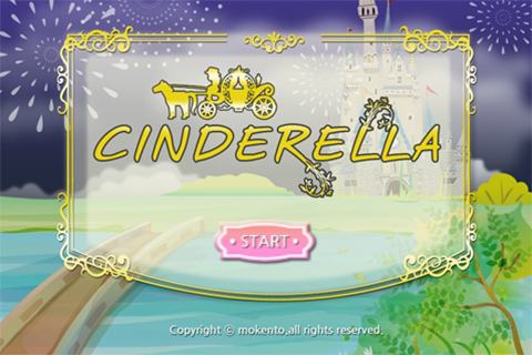 LUMIKIDS app book: Cinderella- screenshot