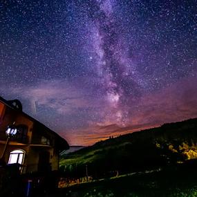 Milky Way by Sabin Malisevschi - Landscapes Starscapes ( mountain, stars, way, milky, milky way )