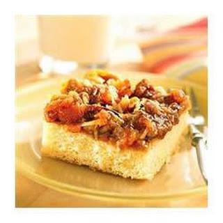 Apricot Caramel Brunch Cake