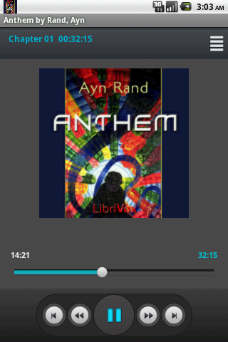 Audiobook: Anthem by Ayn Rand