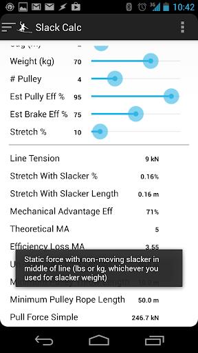 Slack Calc
