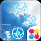 空壁紙 BLUE SKY icon