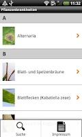 Screenshot of DLG-Pflanzenkrankheiten
