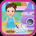 首页洗衣店女孩游戏 icon