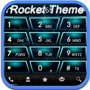 RocketDial Neon 2nd Theme