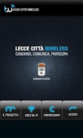 Screenshot of Lecce Città Wireless