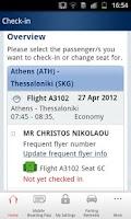 Screenshot of Aegean