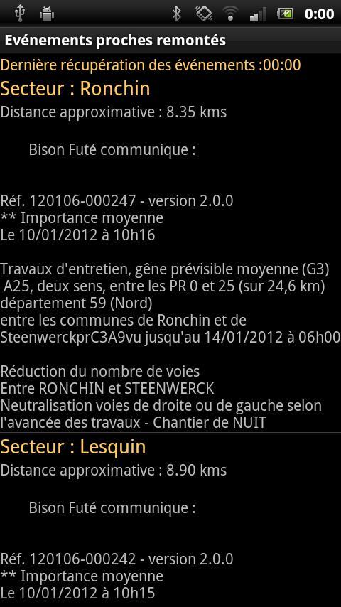 Trafic Alert - screenshot