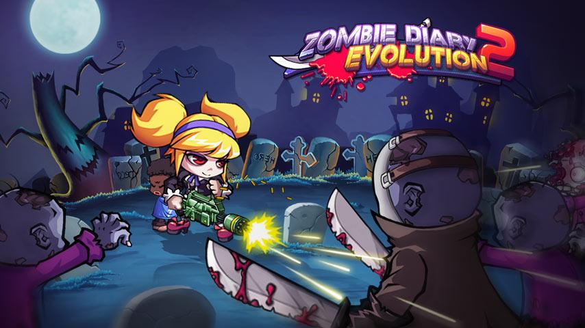 Screenshots of Zombie Diary 2: Evolution for iPhone