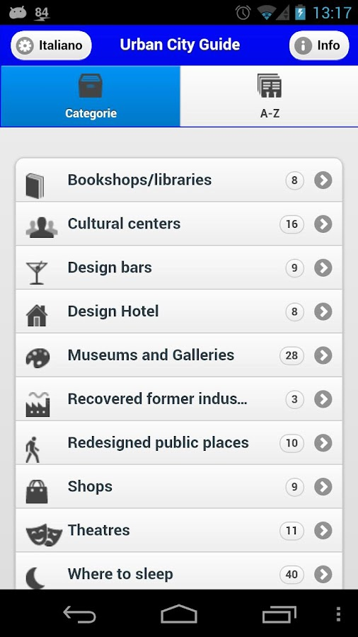 Urban City Guide Palermo- screenshot