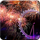 Fireworks Live Wallpaper HD