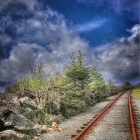 by Todd Klingler - Transportation Railway Tracks (  )