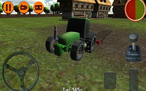 3D Tractor Simulator Farm Game 1.0 screenshots 2
