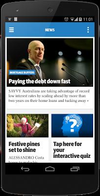 Herald Sun/Sunday HS Edition - screenshot