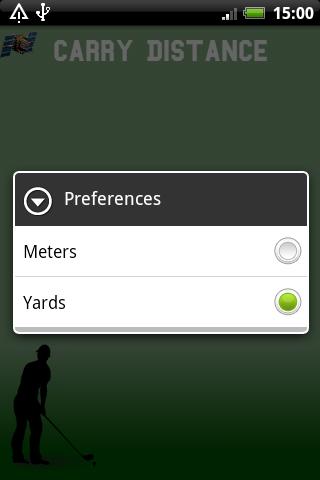 Golf Carry Distance- screenshot