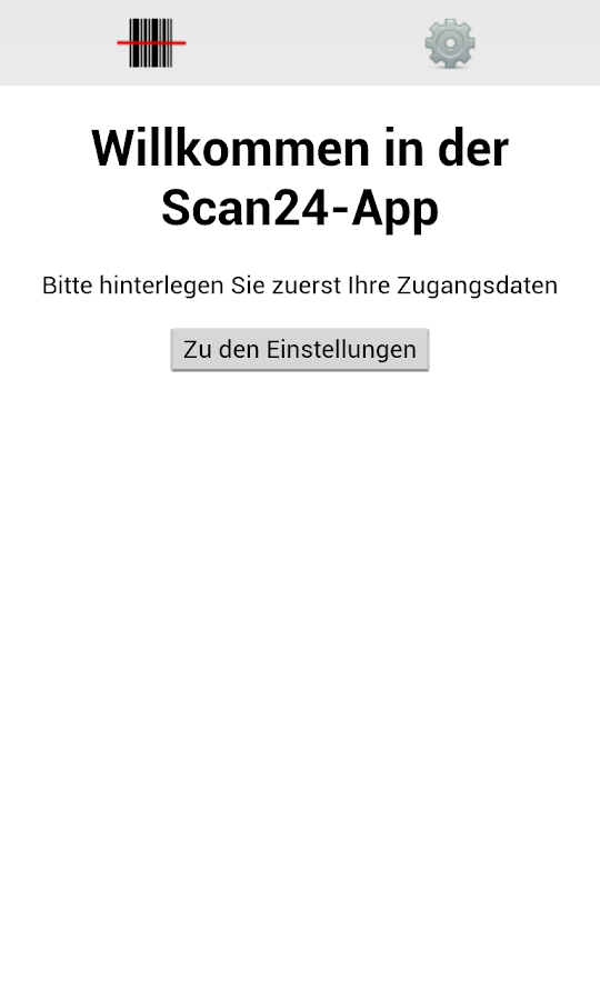 Scan24 - Die Bestellapp – Screenshot