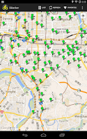 Screenshot of Bikerker -YouBike/UBike finder