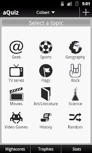 aQuiz - Trivia Quiz- screenshot thumbnail