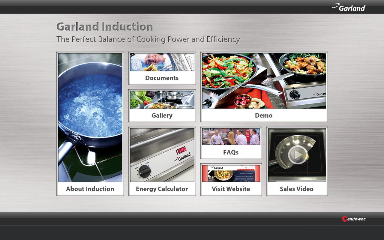 Manitowoc Garland Induction- screenshot